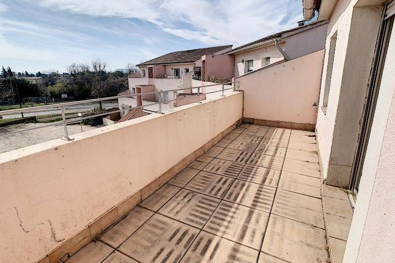 Appartement t2 avec balcon et parking en residence  ...