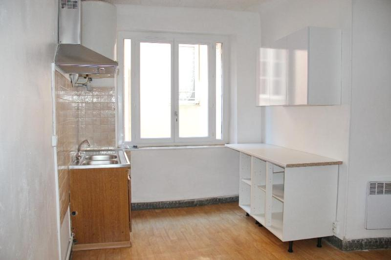 appartement avec garage en centre ville cuisine séjour salle